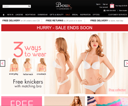 Boux Avenue coupon code