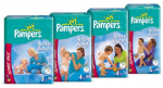 Pampers Nappies promo code